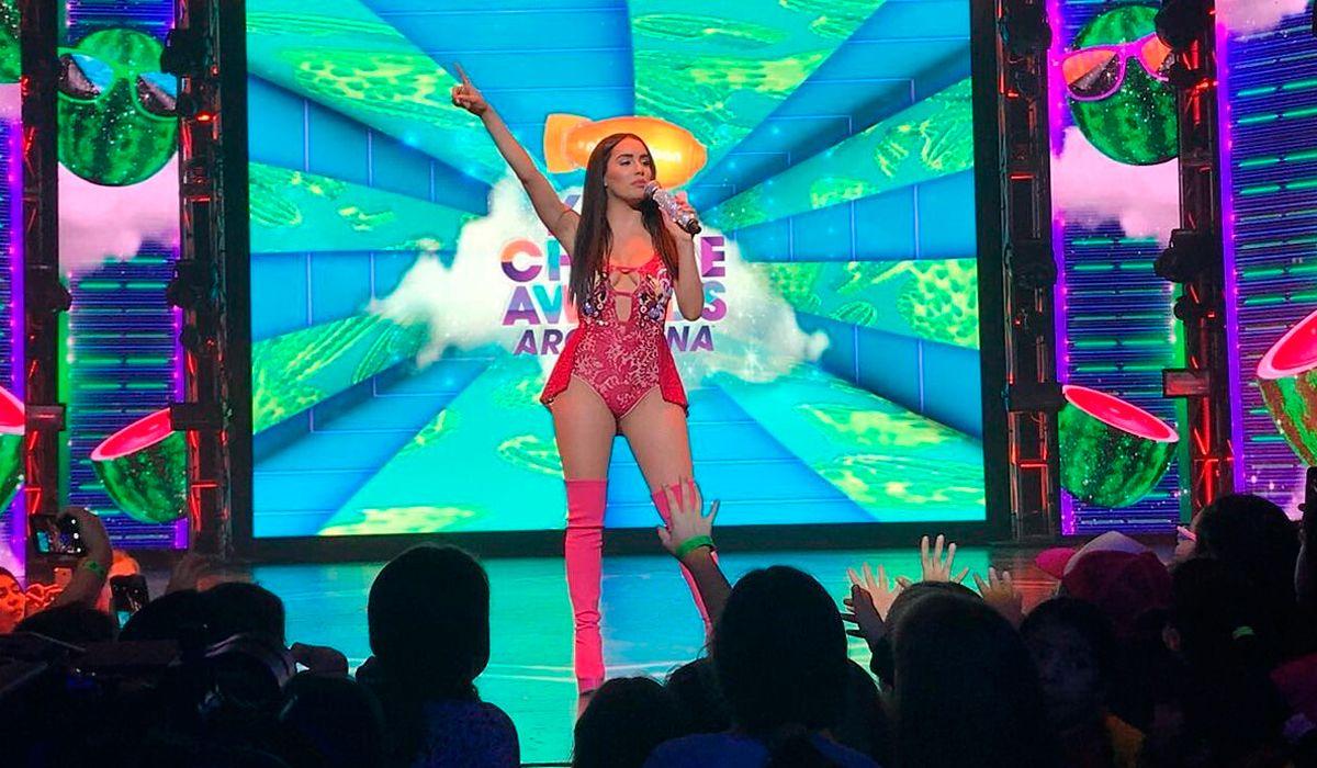El look de Lali en los KCA Argentina 2017
