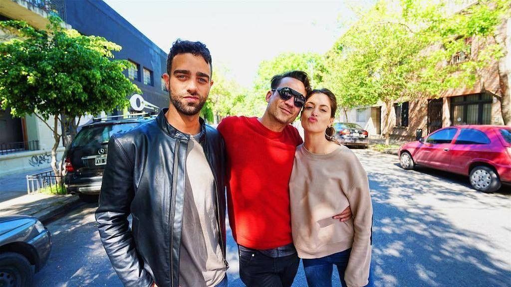 Chano estuvo en Morning Time con Diego Poggi y Agustina Casanova