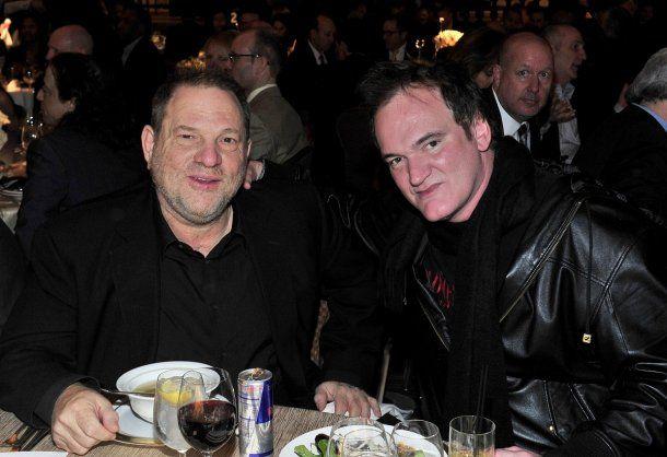 Harvey Weinstein y Quentin Tarantino<br>