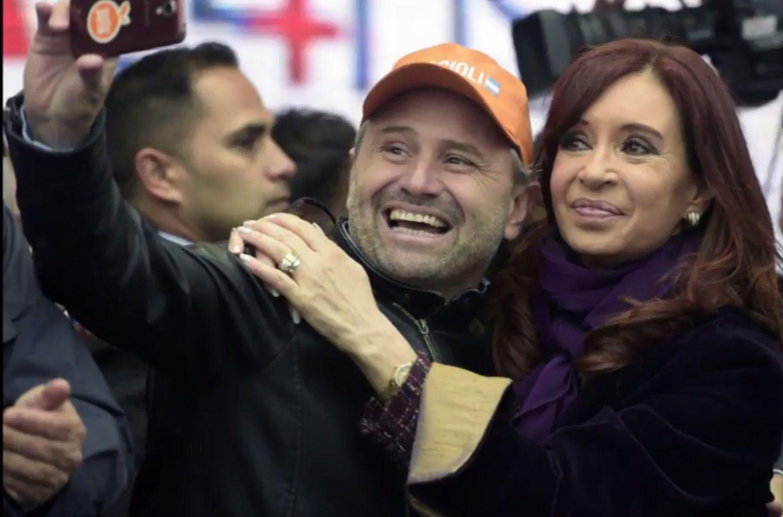 Marcos Di Palma y Cristina Kirchner