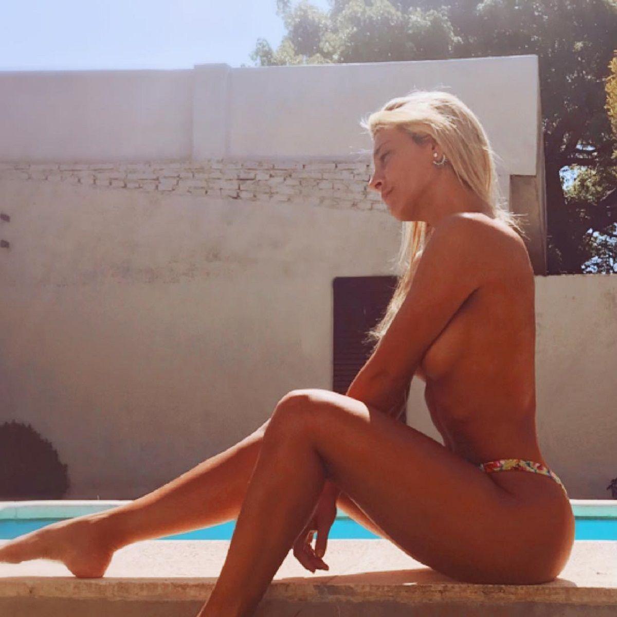 Sol Pérez en topless