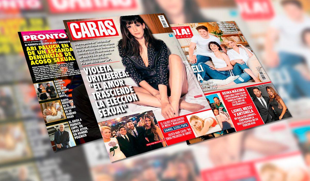 Las tapas de las revistas de esta semana