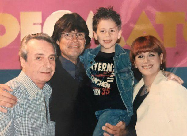 Santiago, Marcelo, Fede y Carmen<br>
