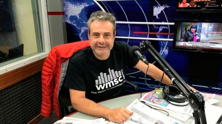 Ari Paluch recibió el apoyo de Luis Ventura