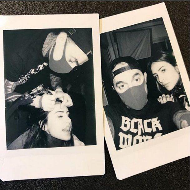 La foto de Cande en Instagram<br>