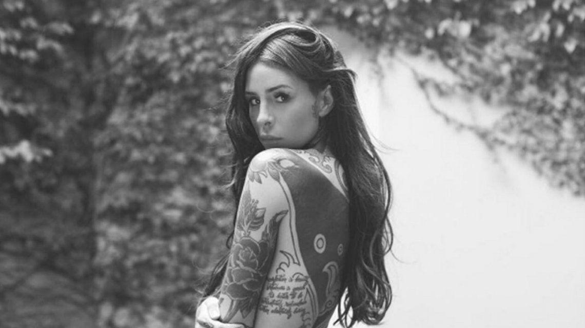 Candelaria Tinelli y sus tatuajes