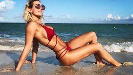 Las fotos de Noelia Marzol, sexy en la playa