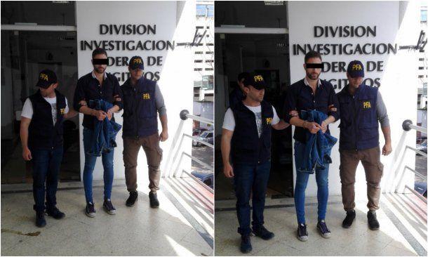 Santos fue detenido el lunes al mediodía<br>