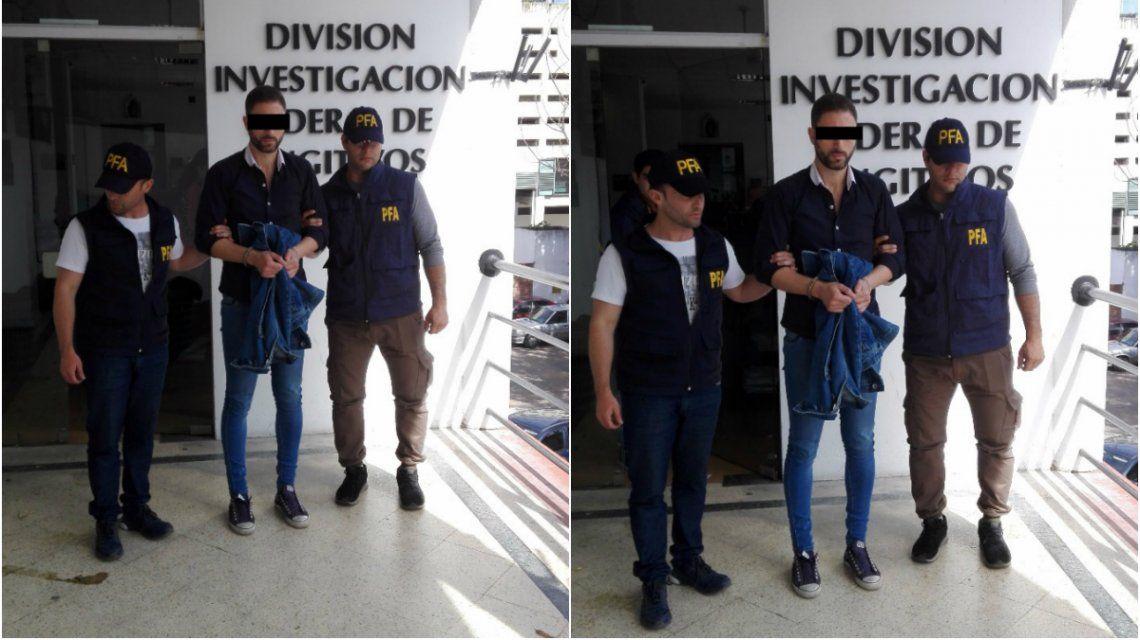 Santos fue detenido el lunes al mediodía