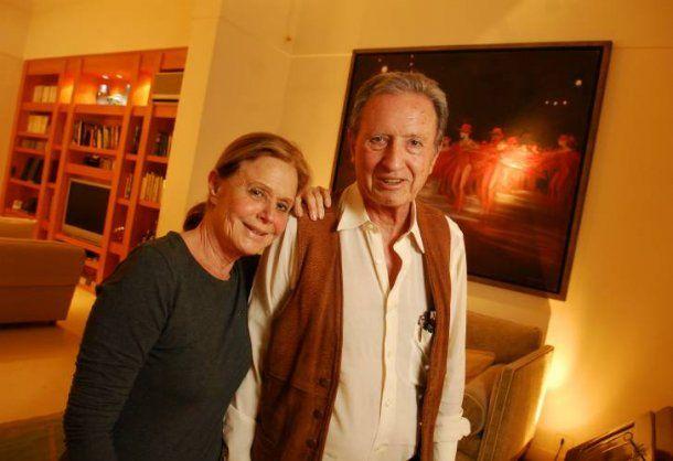 Grondona y su esposa<br>