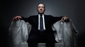Kevin Spacey como Frank Underwood en House of cards