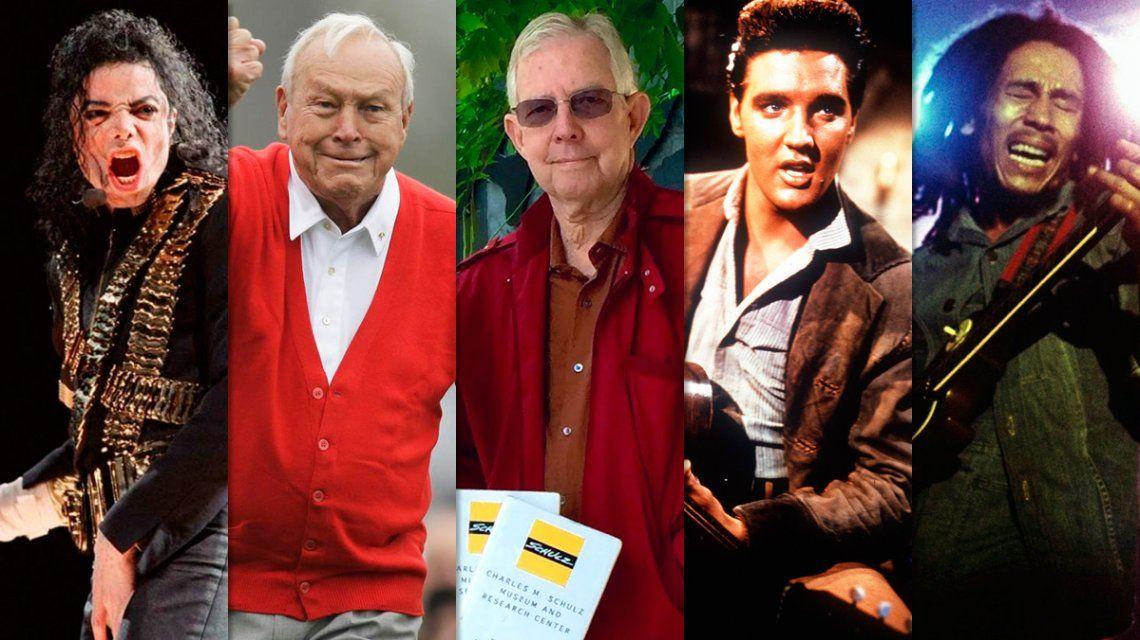 Los herederos contentos: mirá cuánto recaudaron estas celebridades que ya fallecieron