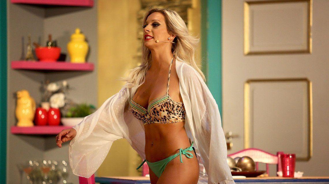 Noelia Marzol ratonea con un topless