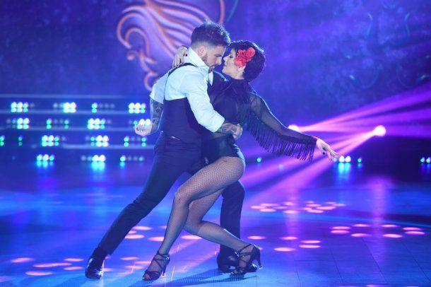 Fede y Laurita bailaron tango y se llevaron solo 11 puntos<br>