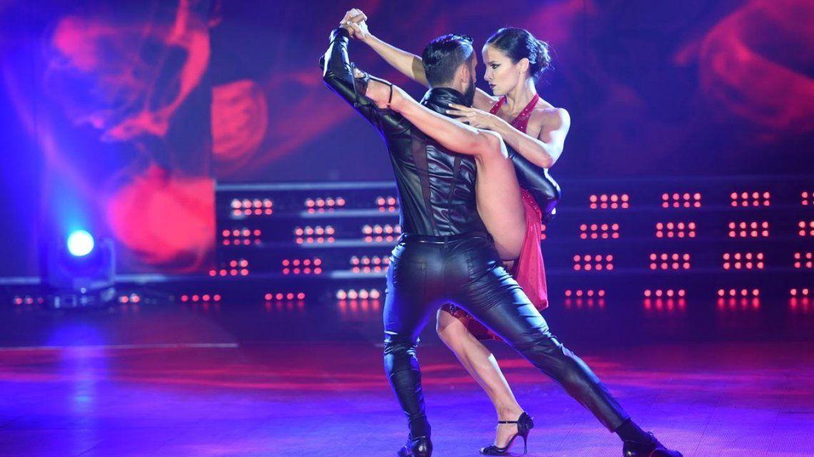Lourdes Sánchez deslumbró con el tango en ShowMatch