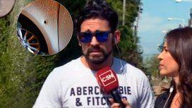 Piquín habló tras el violento robo en Pilar
