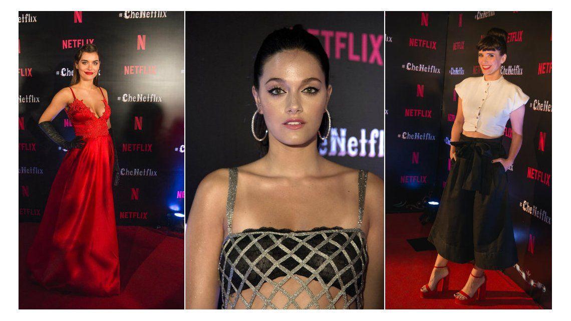 Los looks de los famosos en la exclusiva fiesta de Netflix