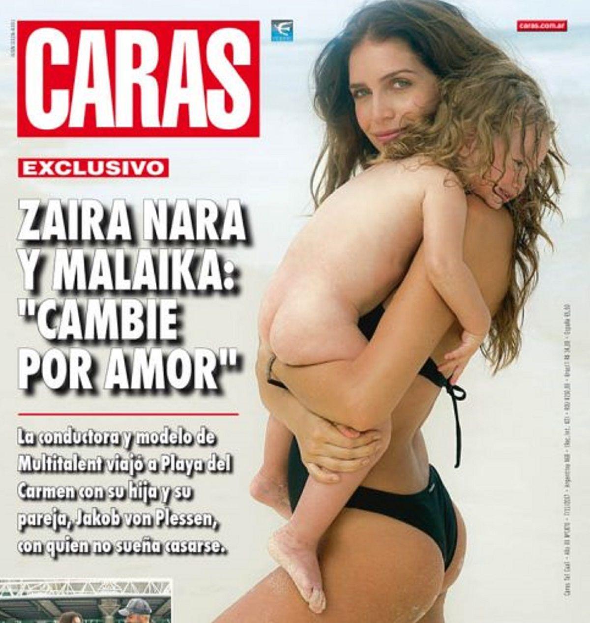 Zaira Nara se defendió de las críticas por las fotos con su hija