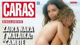 Zaira se defendió de las críticas por las fotos de su hija sin ropa