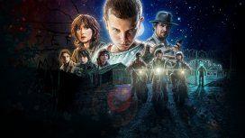 Eleven, Mike, Dustin, Lucas y Will Byers