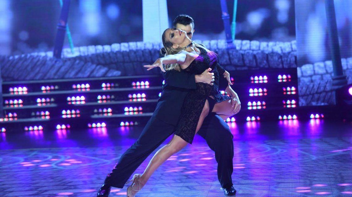 Sol Pérez brilló con un tango muy sensual y el jurado la ovacionó