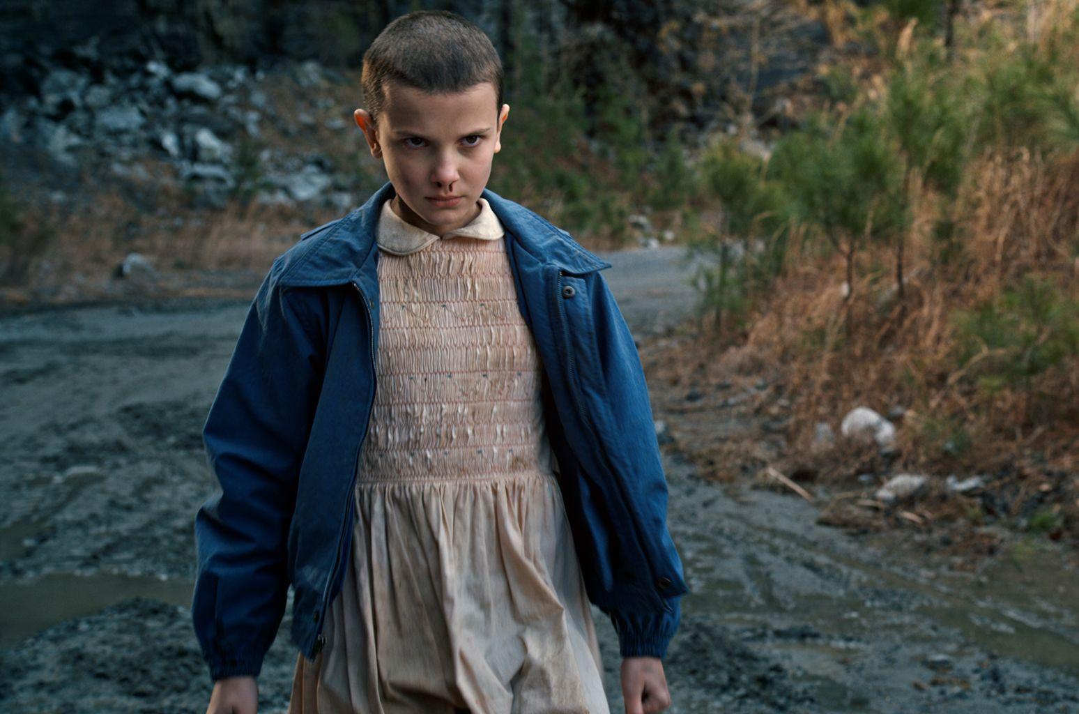 Millie Bobby Brown es Eleven en Stranger Things