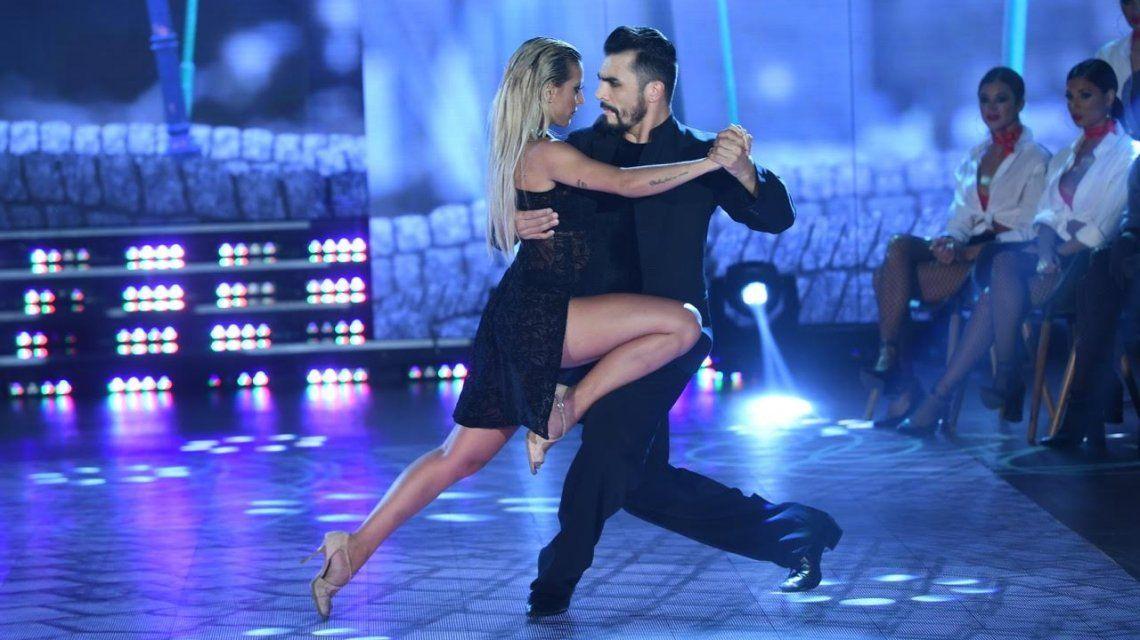 Sol y Bertona en el ritmo tango del Bailando 2017