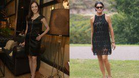 En las redes compararon los looks de Cristina Pérez y Pamela David