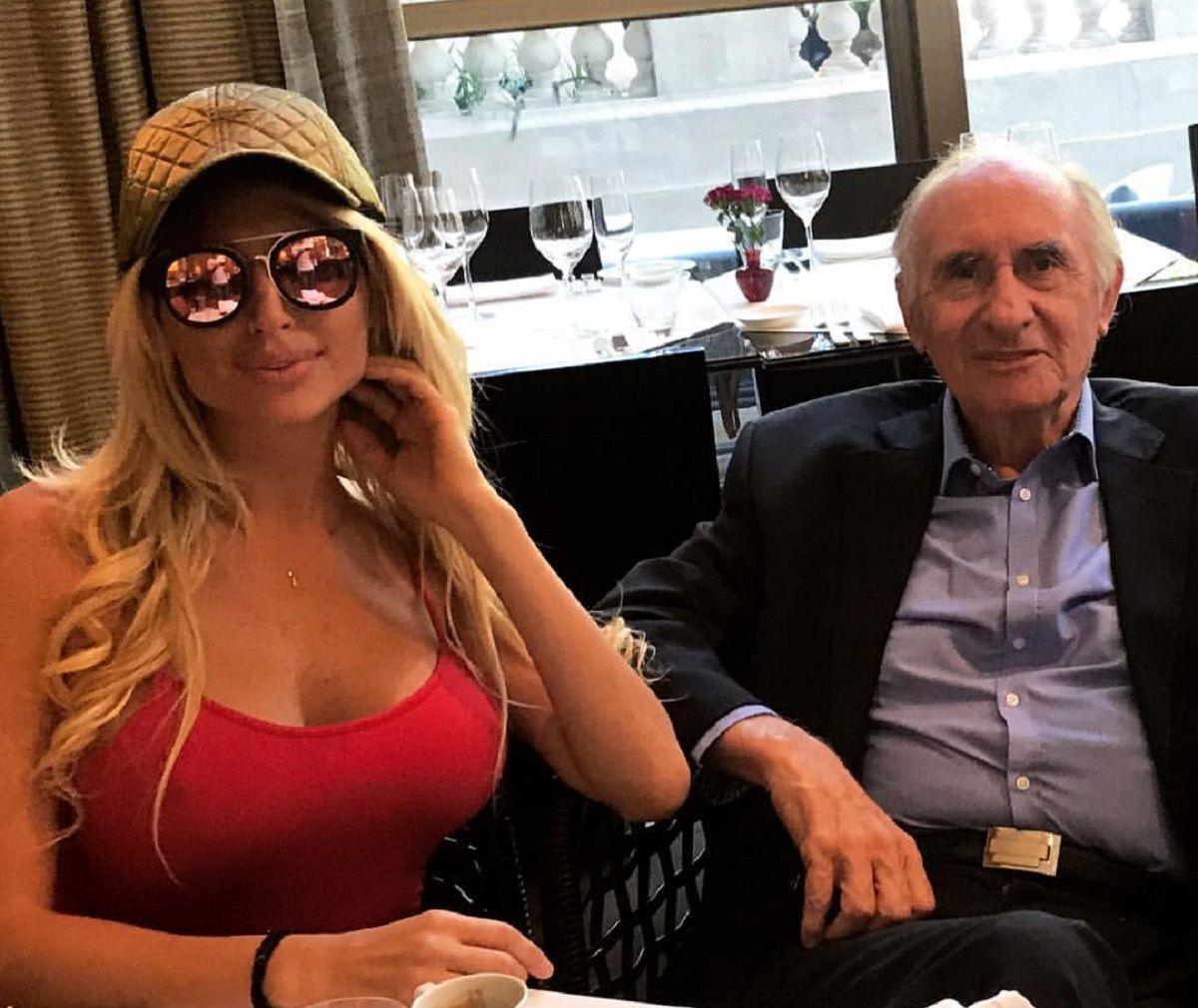 Vicky Xipolitakis coincidió en un almuerzo con Fernando de la Rúa
