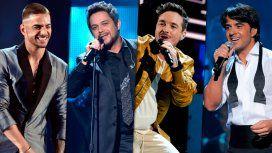 Maluma, Ale Sanz, J Balvin y Luis Fonsi en los Grammys 2016