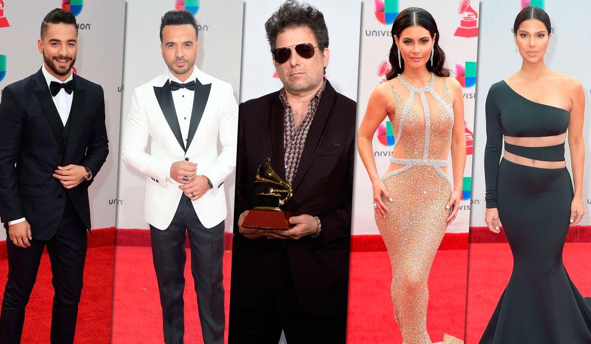 Grammy Latinos 2017: los mejor y peor vestidos que pasaron por la alfombra roja