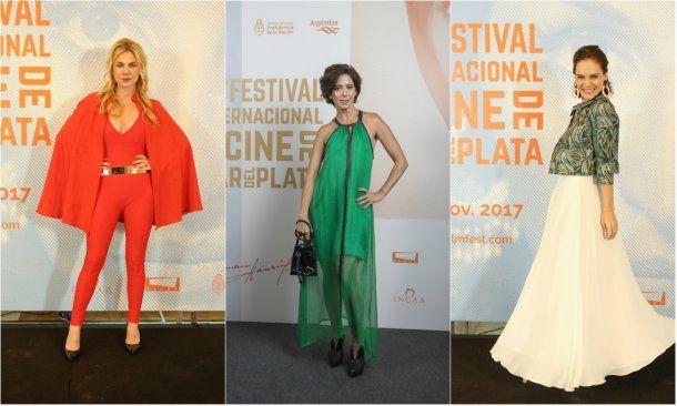 Dolores Mitre, Laura Novoa y Luz Cipriota<br>