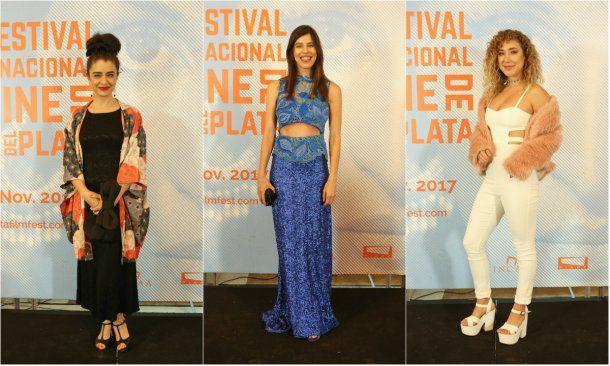 Érica Rivas, Valentina Bassi y Anita Pauls<br>