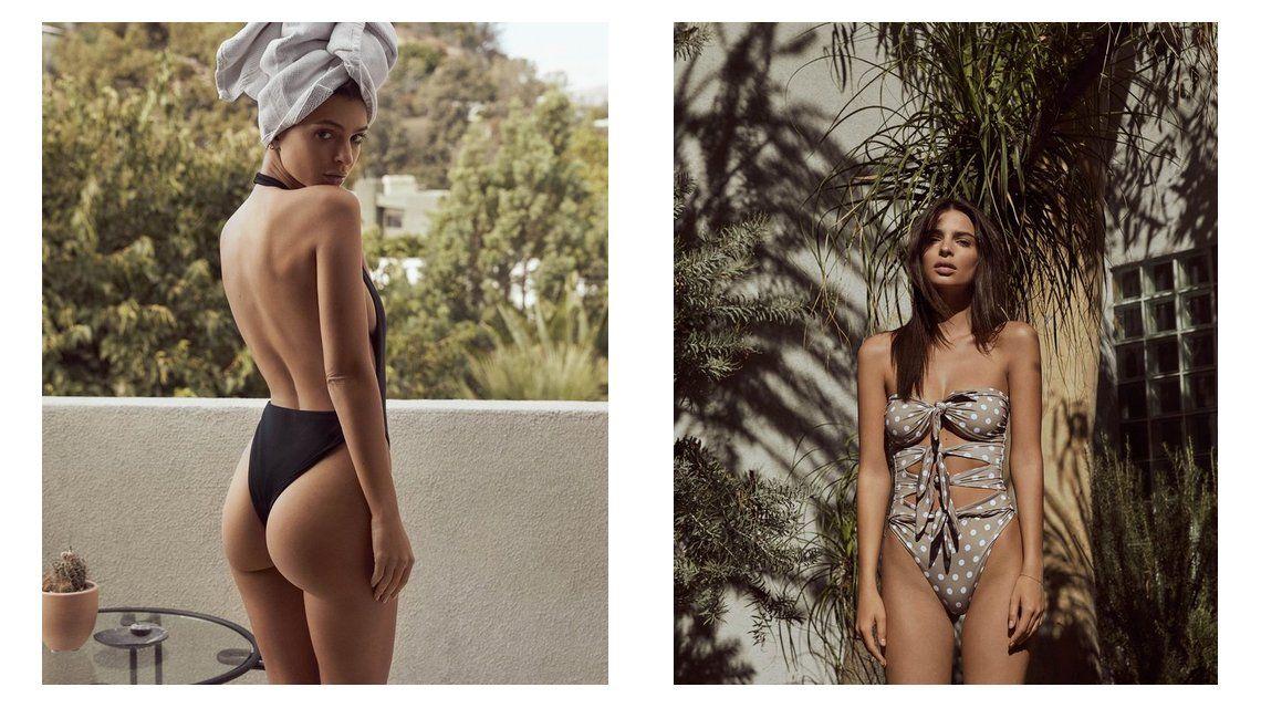 La campaña hot de Emily Ratajkowski para lanzar su línea de bikinis