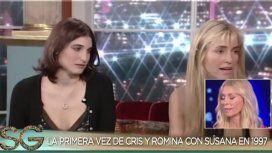 Romina Yan con Cris Morena