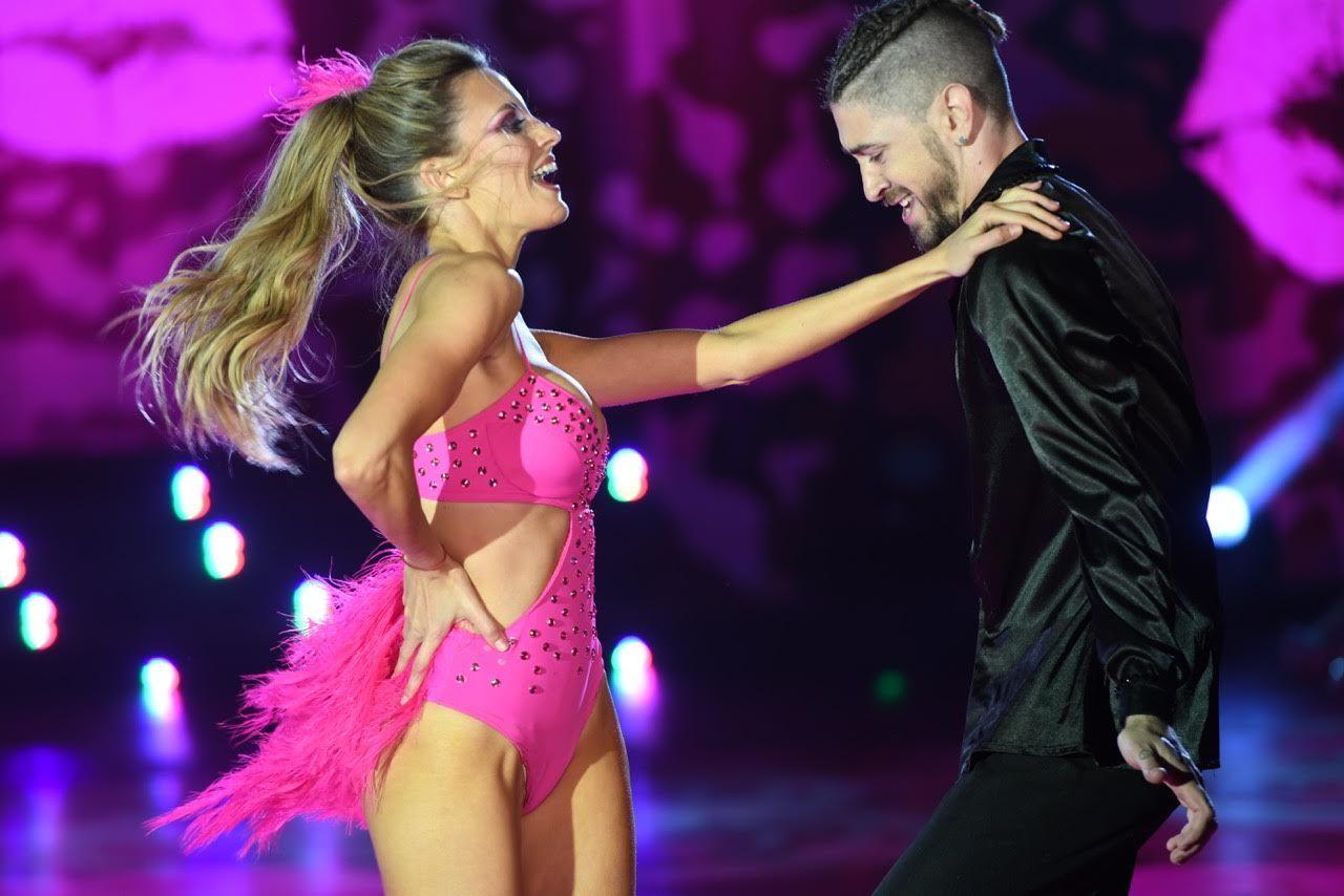 Melina Lezcano balió Cariñosa de Chichi Peralta