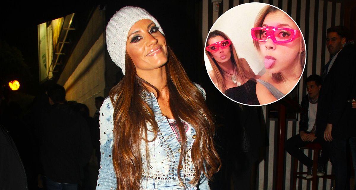 Natacha presentó públicamente a su hija Antonella