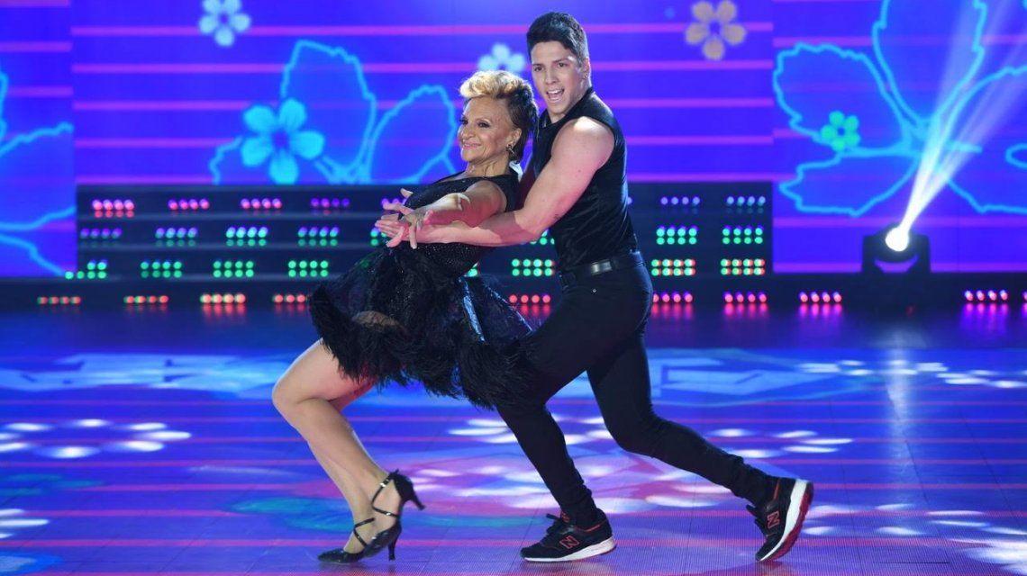 Consuelo Peppino con Agustín Reyero durante el baile
