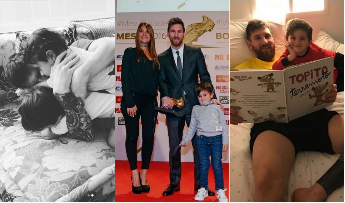 Cómo es la vida de Messi fuera del Camp Nou