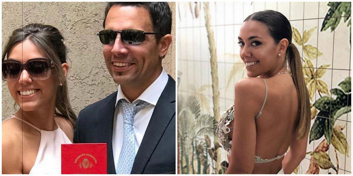 Floppy Tesouro se casó con Rodrigo Fernández Prieto