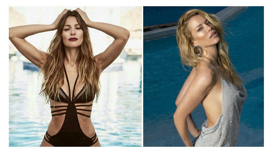 Pampita en topless vs. Nicole sin ropa interior: las fotos más hot de las enemigas