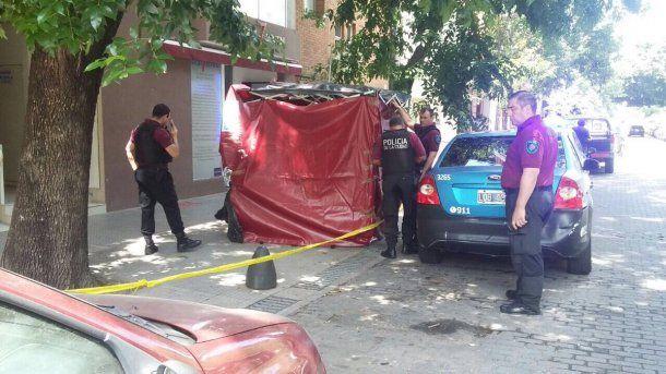 El lugar de la muerte de Rocío Gancedo
