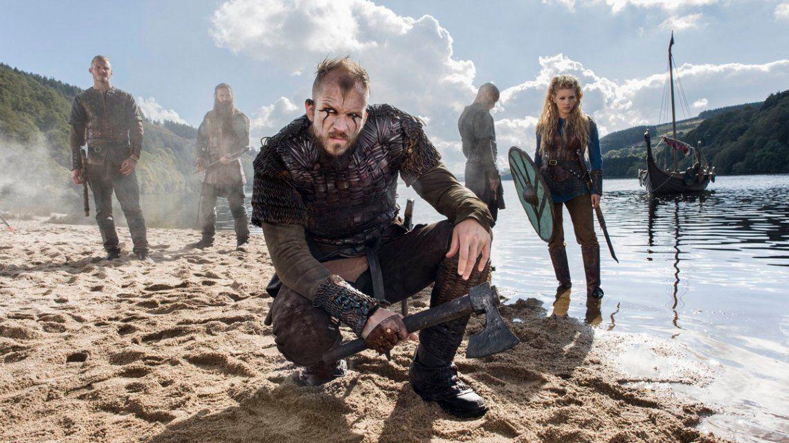 Así se veían los protagonistas de Vikings en sus primeros papeles actorales