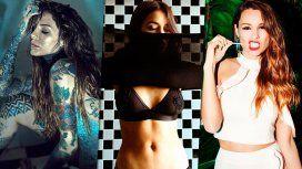 Candelaria Tinelli, Lali y Pampita estrenaron nuevo look
