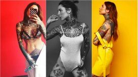 Cande Tinelli y sus tatuajes