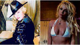 Los intercambios de mensajes de Madonna con Britney Spears en Instagram