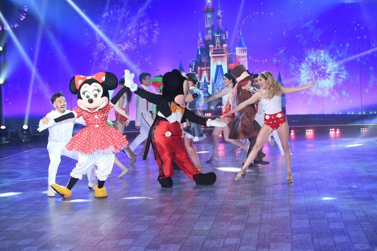 Fede Bal y Laurita Fernández homenajearon a Disney