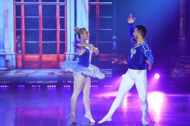 Sol Pérez se defendió en el ballet. <br>