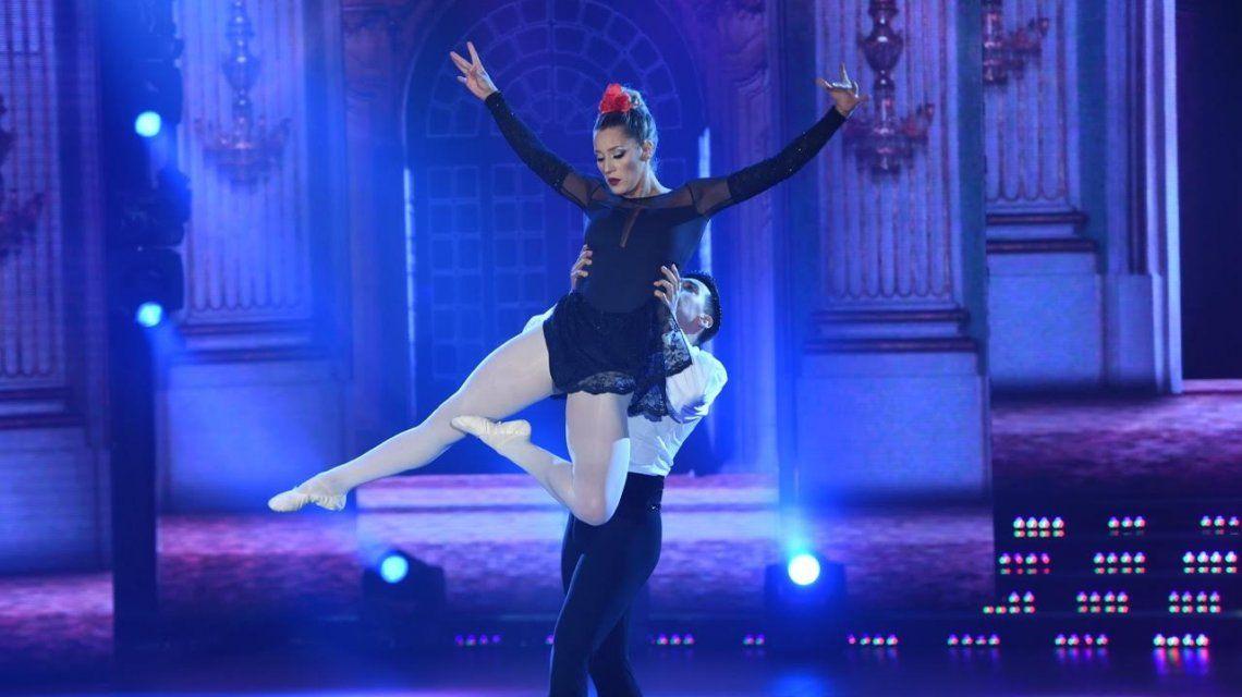Mica Viciconte obtuvo 15 puntos en el ballet.