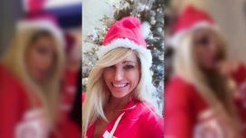 Vicky Xipolitakis se prepara para la Navidad